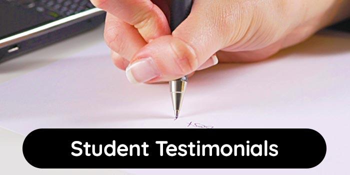 Student Testimonials & Experiences